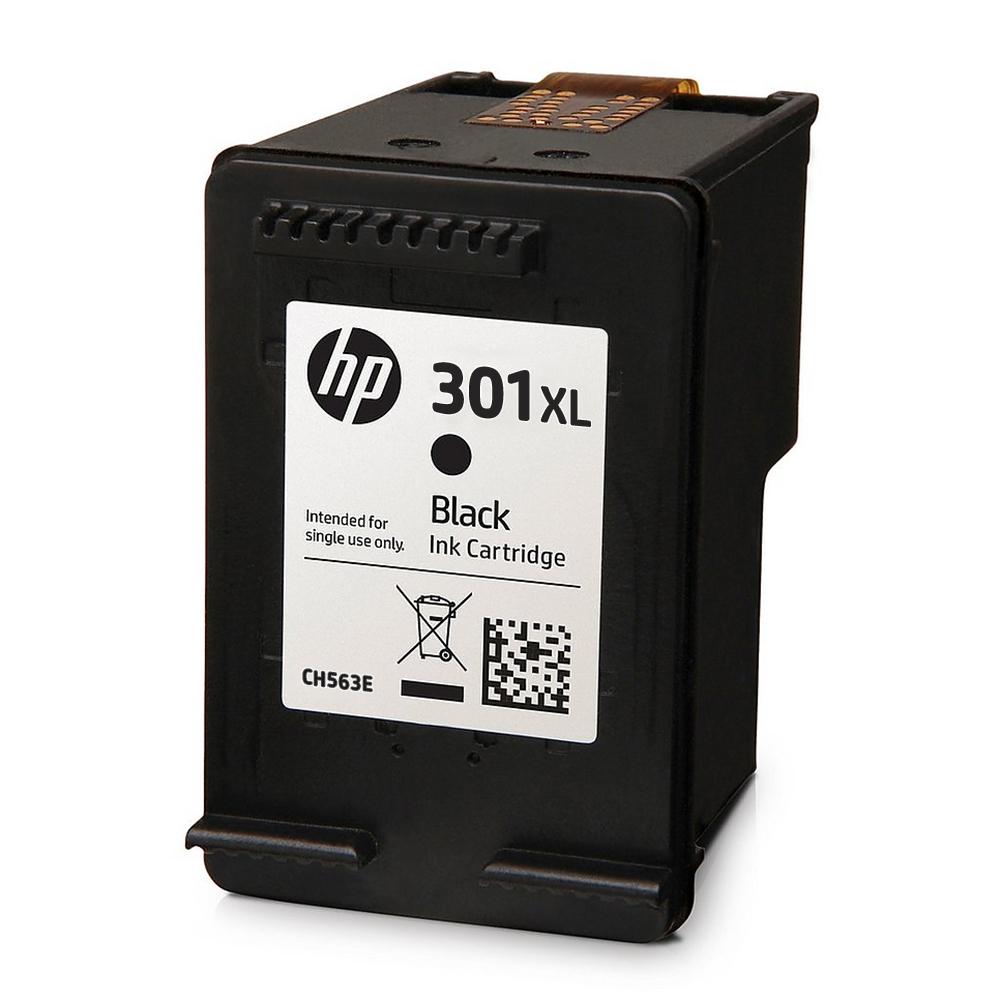 CH563E_NP - Original HP 301XL High Capacity Black Ink Cartridge