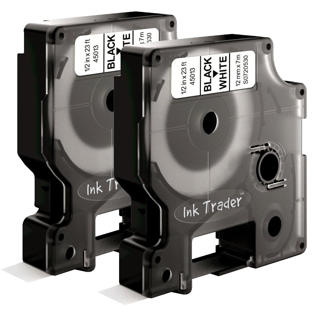 Dymo D1 45013 Labels x2 comp