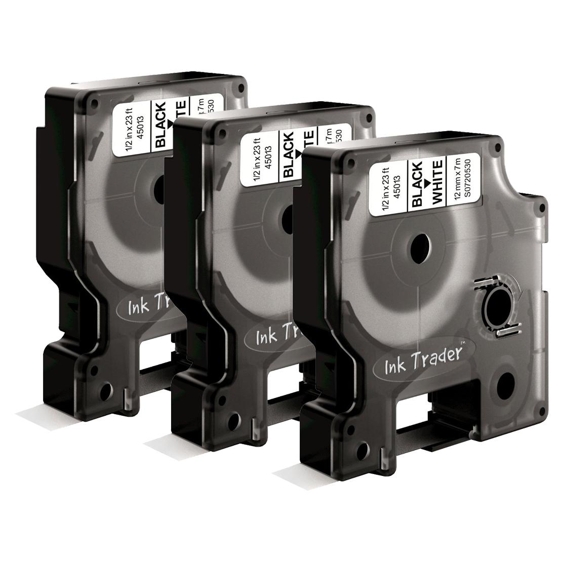 Dymo D1 45013 Labels x3 comp