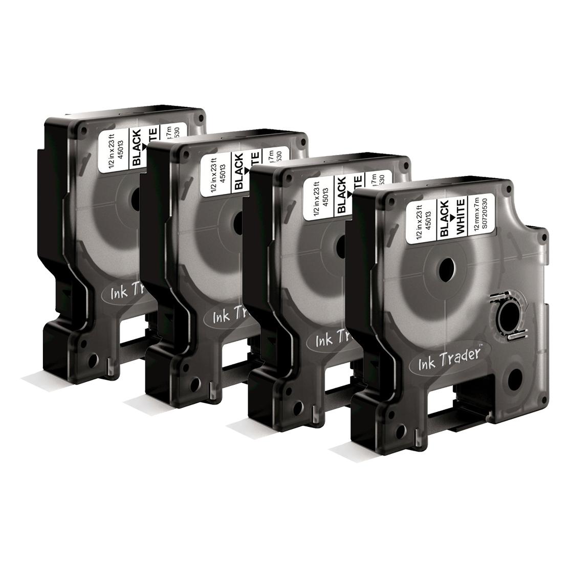 Dymo D1 45013 Labels x4 comp