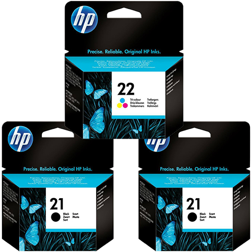 HP 21 22 Original Ink Cartridges