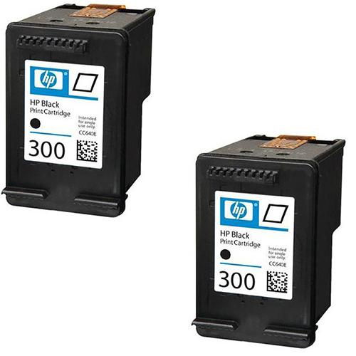 HP 300 Black Original Ink Cartridges