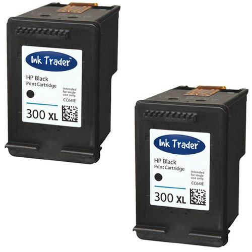 HP 300XL Black Ink Cartridges