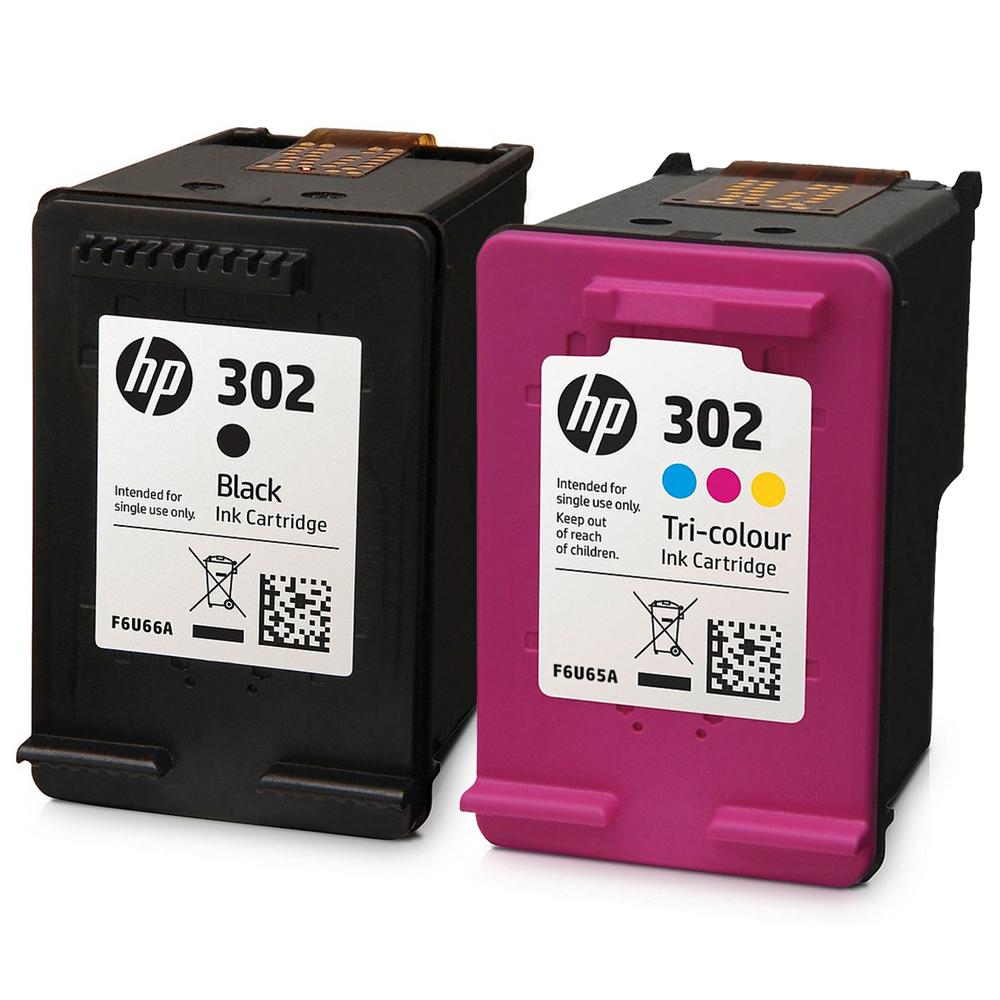 HP 302 Original Ink Cartridges