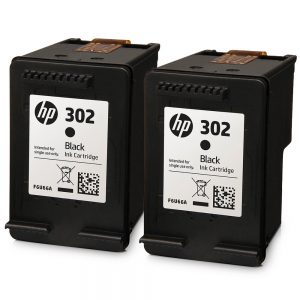 HP 302 Black Original Ink Cartridges