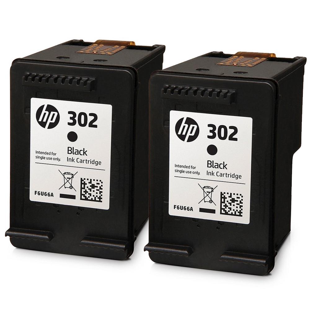HP 302 Black Original Ink Cartridges