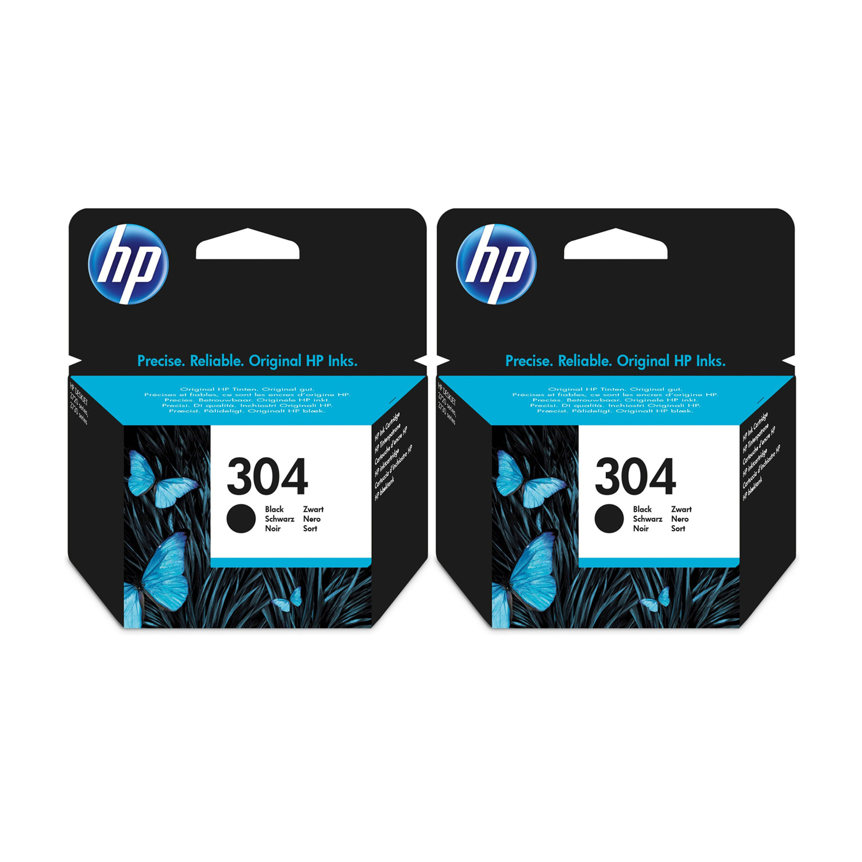 HP 304 Black Original Ink Cartridges