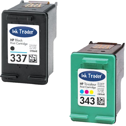 HP 337 343 Remanufactured Ink Cartridges