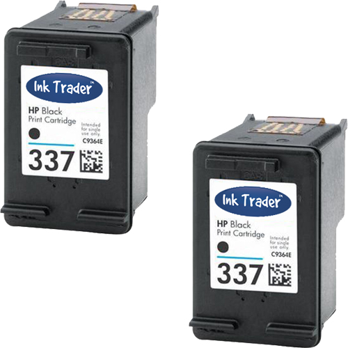 HP 337 Black Remanufactured Ink Cartridges