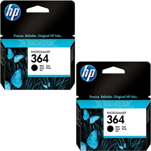 HP 364 Black Original Ink Cartridges