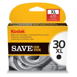 Kodak 30XL Ink Cartridges - Black Original