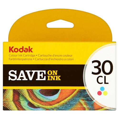 Kodak 30 Ink Cartridges - Colour Original
