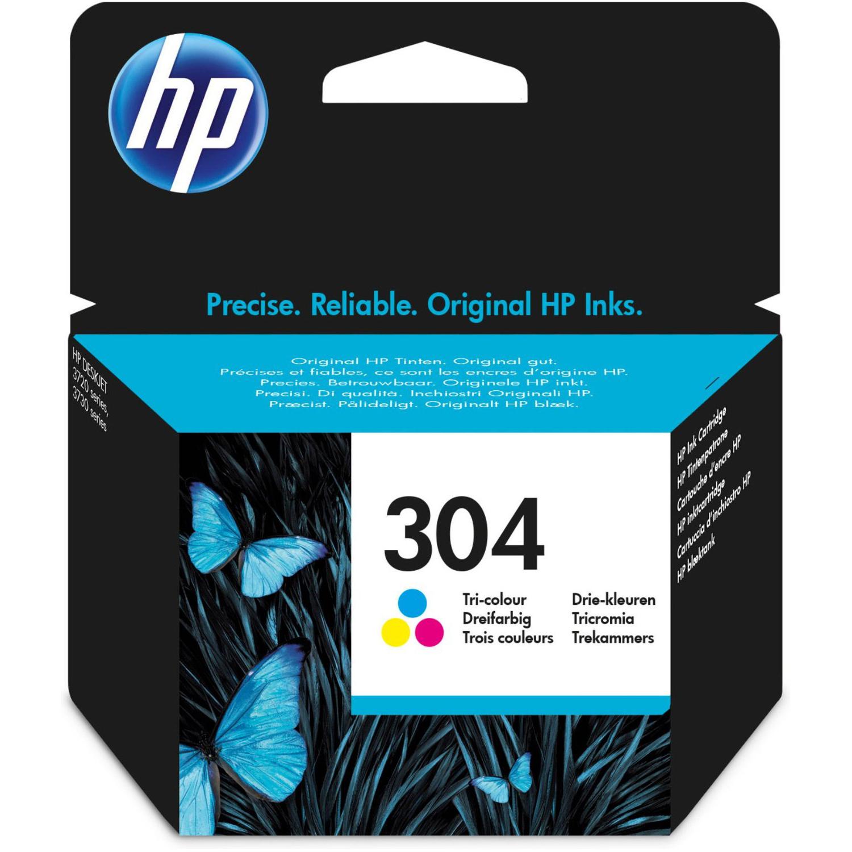 HP 304 Ink Cartridge - Colour Original