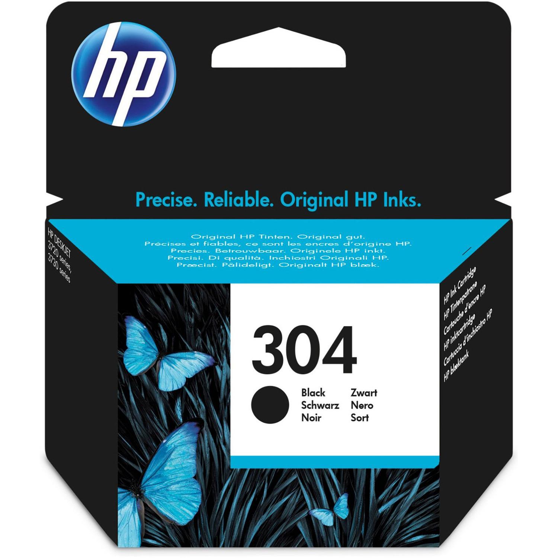 HP 304 Ink Cartridge - Black Original