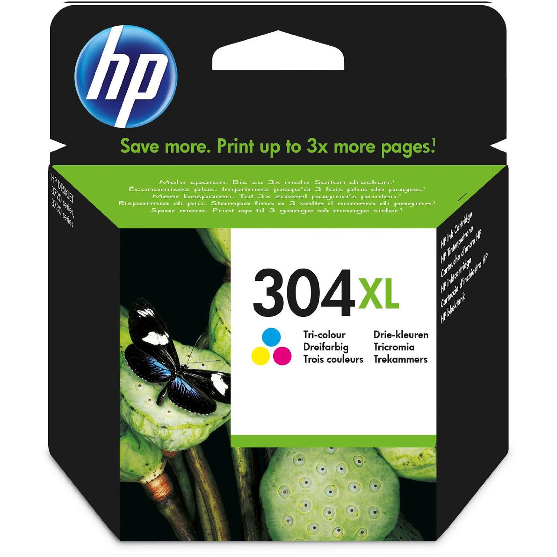 HP 304XL Ink Cartridge - Tri-Colour Original