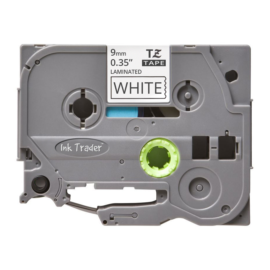 Brother P-Touch TZE-221 White Labels - Brother P-Touch TZE221