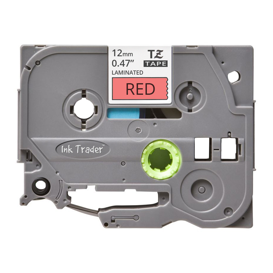 Brother P-Touch TZE-431 Red Labels - Brother P-Touch TZE431