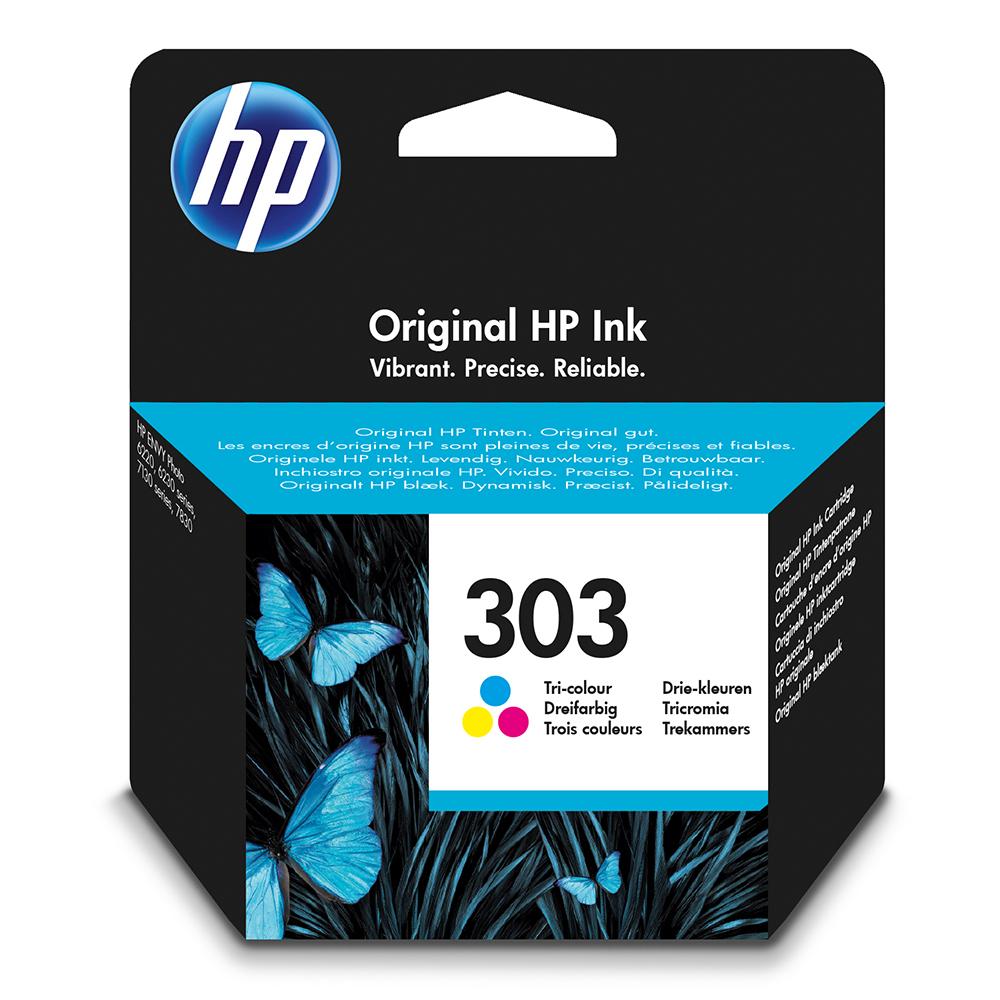 HP 303 Ink Cartridge - Colour Original
