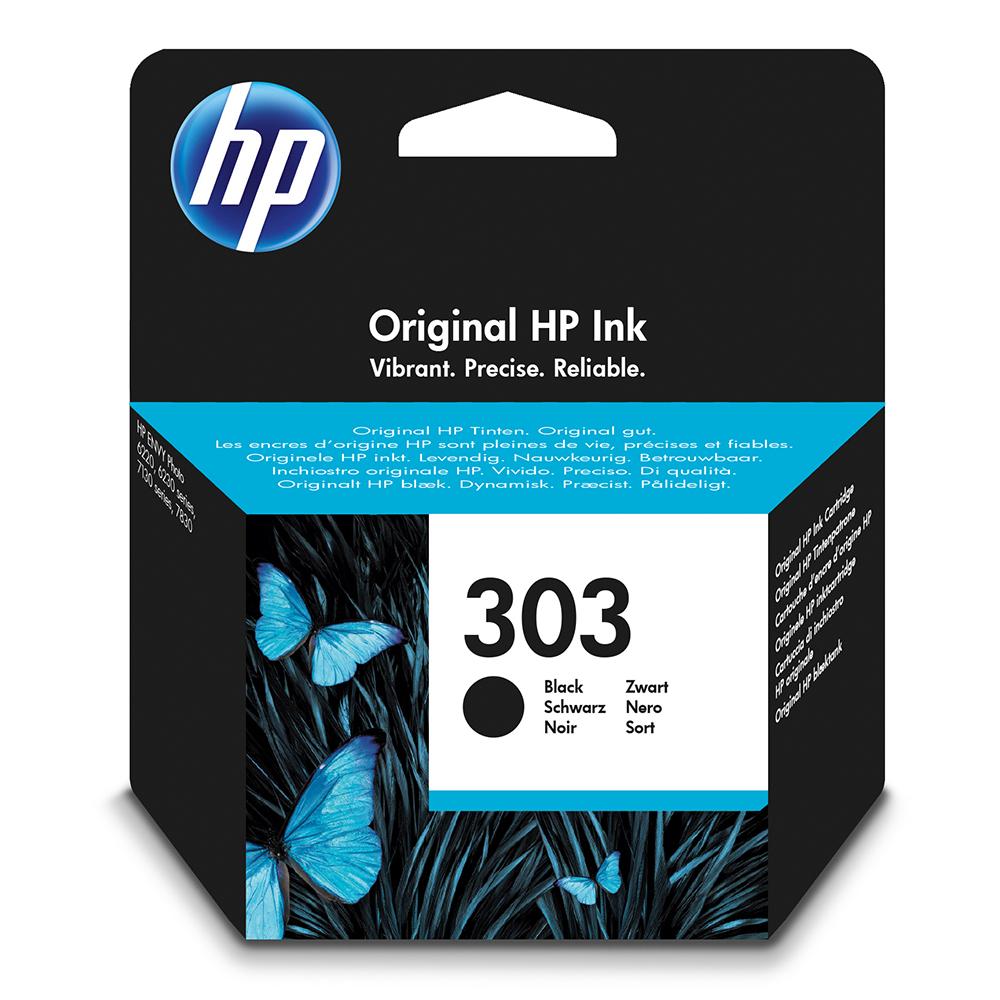 HP 303 Ink Cartridge - Black Original