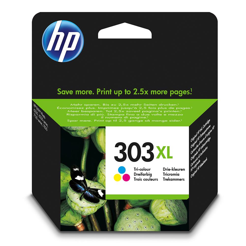 HP 303XL Ink Cartridge - Tri Colour Original