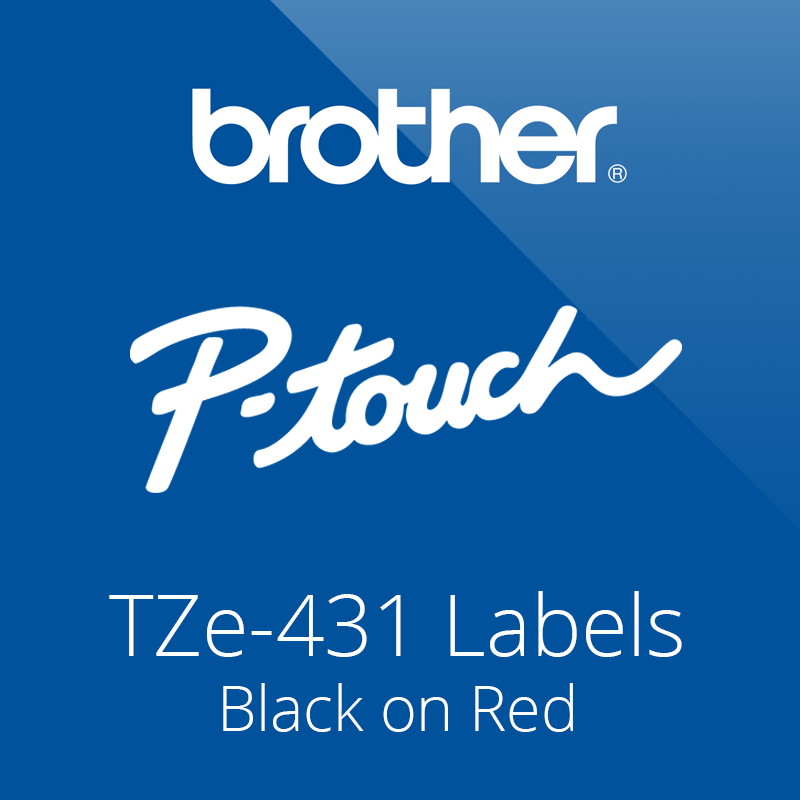 P-Touch Tze-431 Label Tapes