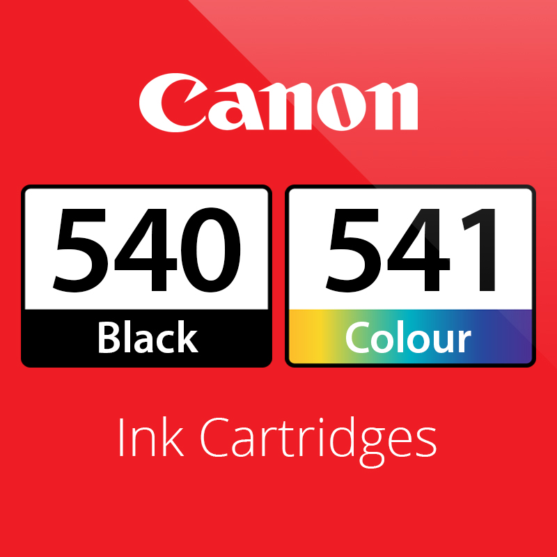 Canon PG540 & CL541 Ink Cartridges