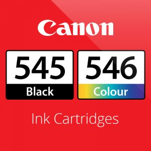 Canon PG545 & CL546 Ink Cartridges