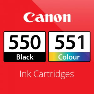 Canon PGi550 & CLi551 Ink Cartridges