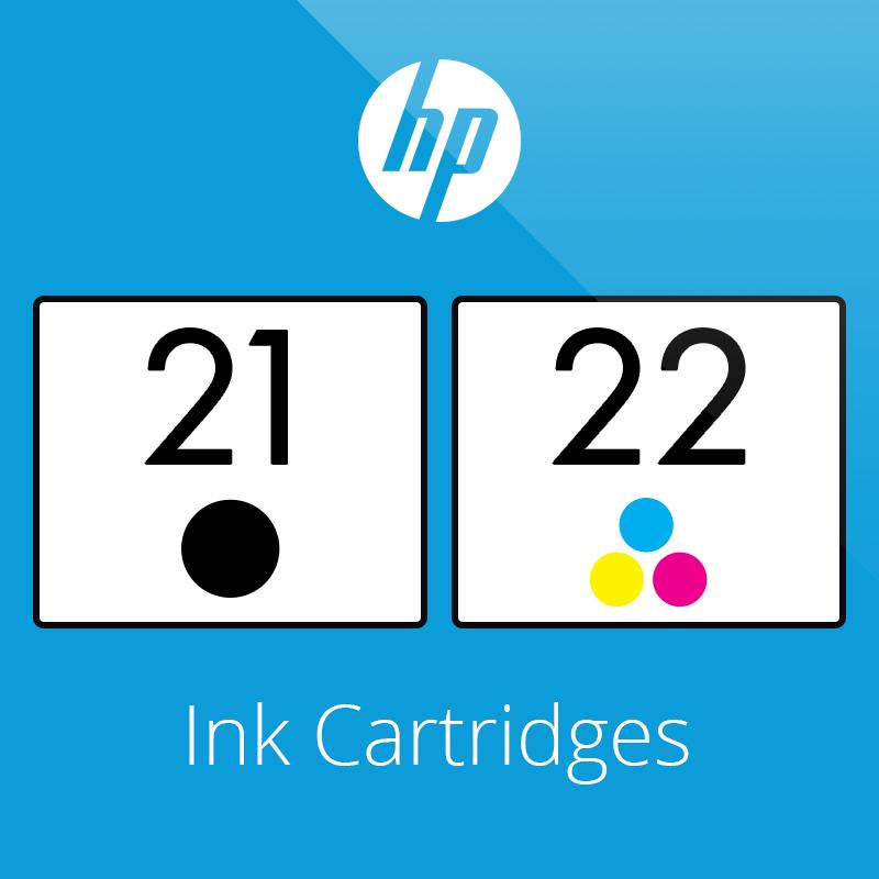 HP 21 & 22 Ink Cartridges