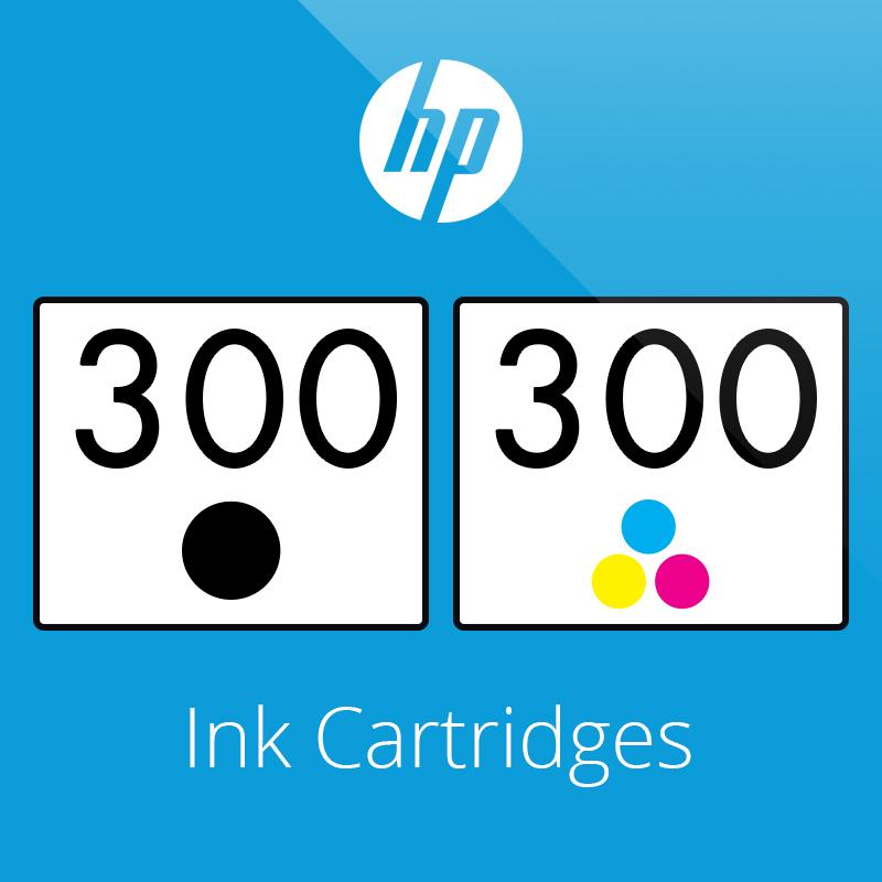 HP 300 Ink Cartridges