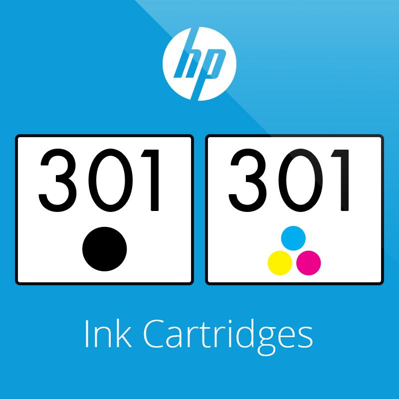 HP 301 Ink Cartridges