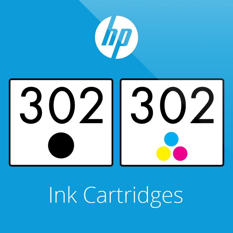 HP 302 Ink Cartridges