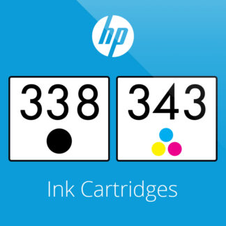 HP 338 & 343 Ink Cartridges