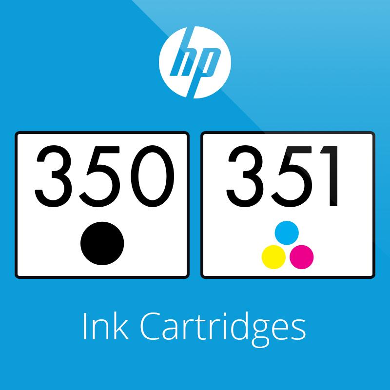 HP 350 & 351 Ink Cartridges