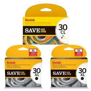 Kodak 30XL Ink Cartridges - Black Colour Original
