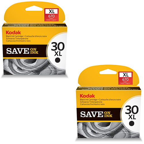 Kodak 30XL Ink Cartridges - Black Original