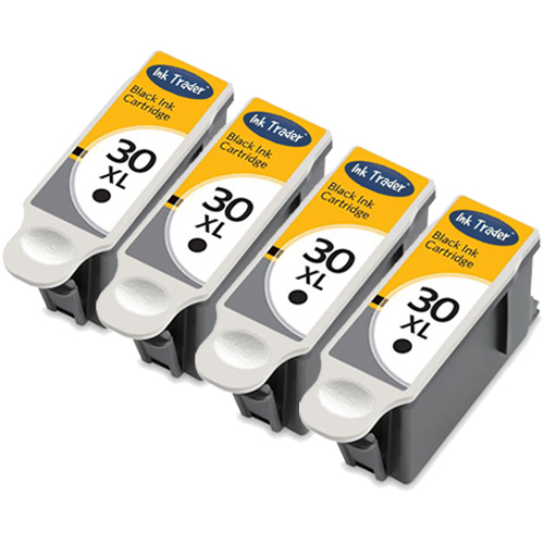 Kodak 30XL Ink Cartridges - Black Reman