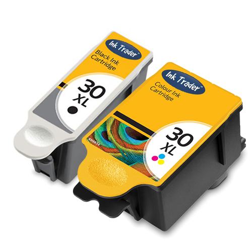 Kodak 30XL Ink Cartridges - Black Colour Reman