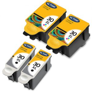 Kodak 30XL Ink Cartridges - Black Colour Reman