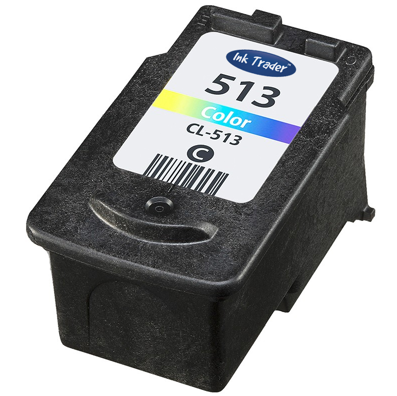 Remanufactured High Capacity Canon CL513 Tri-colour Ink Cartridge