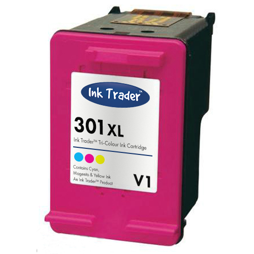 Remanufactured HP 301XL High Capacity Tri-Colour Ink Cartridge