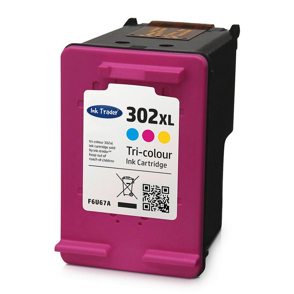 HP 302 Ink Cartridge Tri-Colour Reman