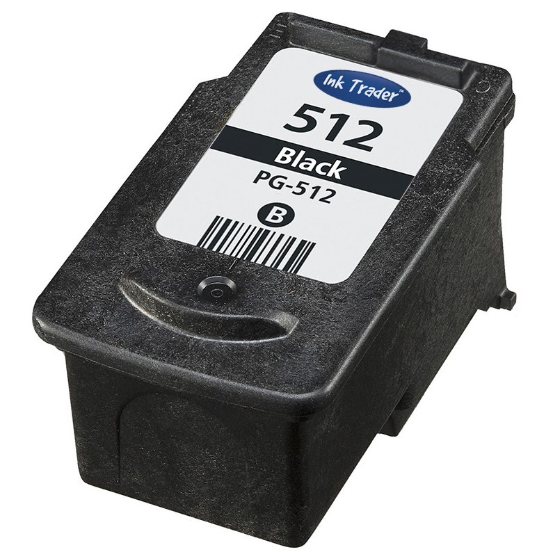 Remanufactured High Capacity Canon PG512 Black Ink Cartridge